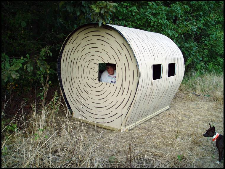 Haybale blinds for Pvc ground blind plans