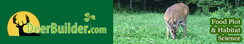 Deerbuilder Food Plot Website