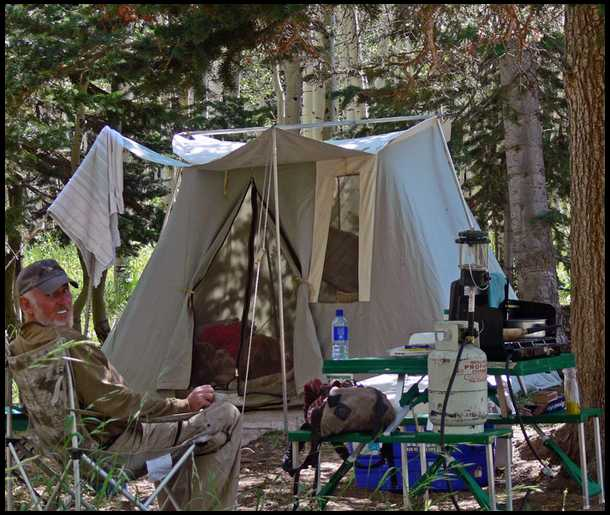 BBu0027s embedded Photo & What brand of wall tent ?