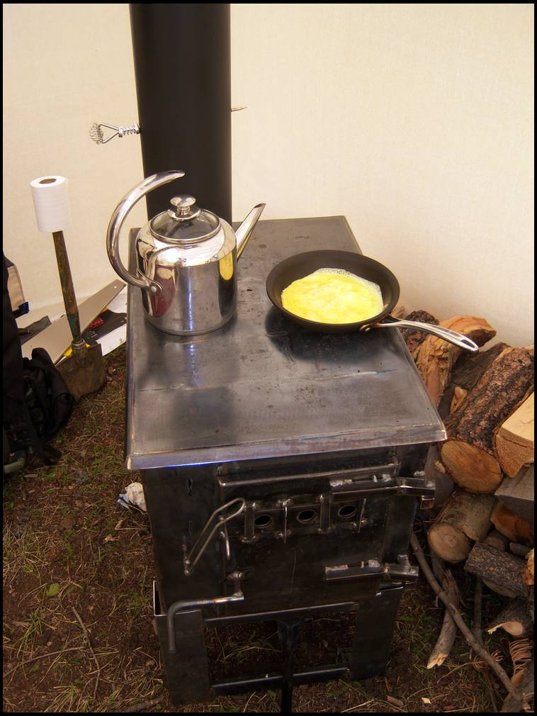 Wall Tent Stove Heater