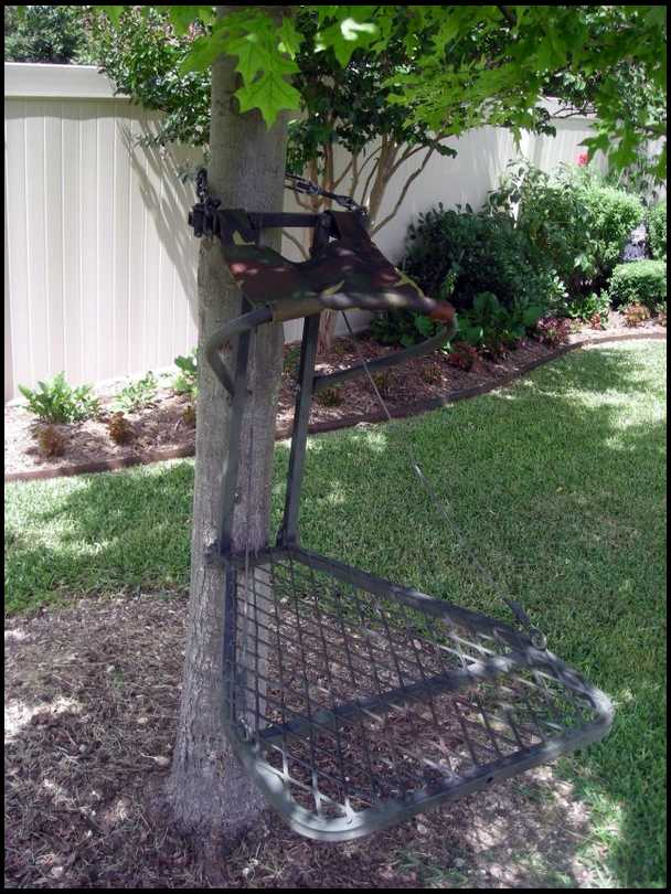 Tree Stand Designs Free : Home made tree stand designs