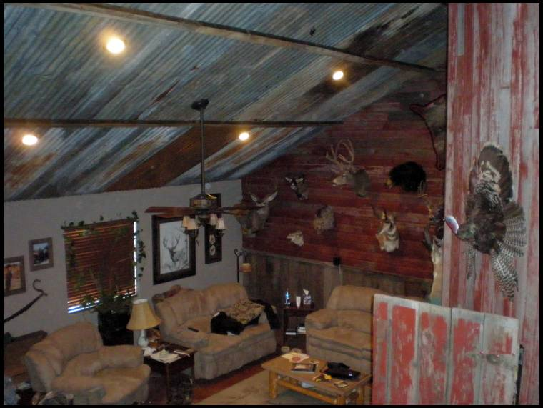 Old Tin Ceiling Ideas Distressed Barn Wood Etc Home