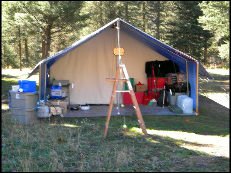 buckykm1u0027s embedded Photo & Ordered a wall tent today!