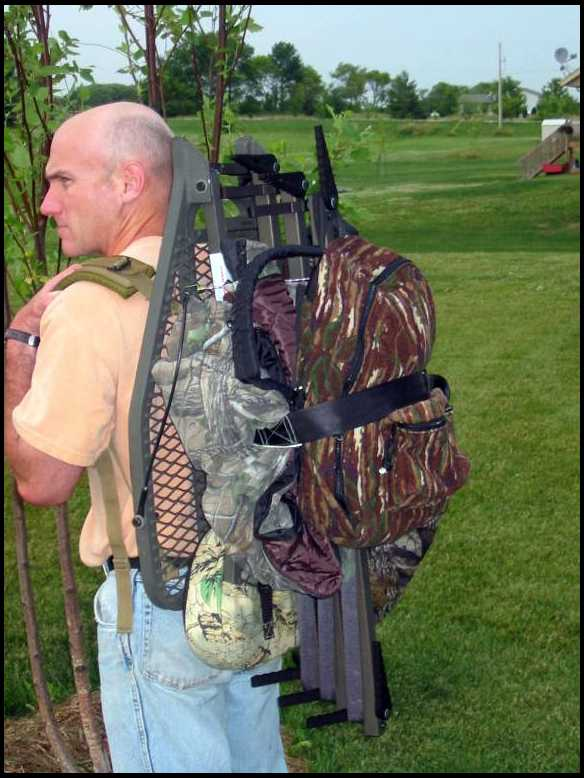 Carrying Your Tree Stand And Back Pack