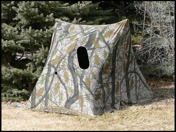 Snow Camo Ground Blind