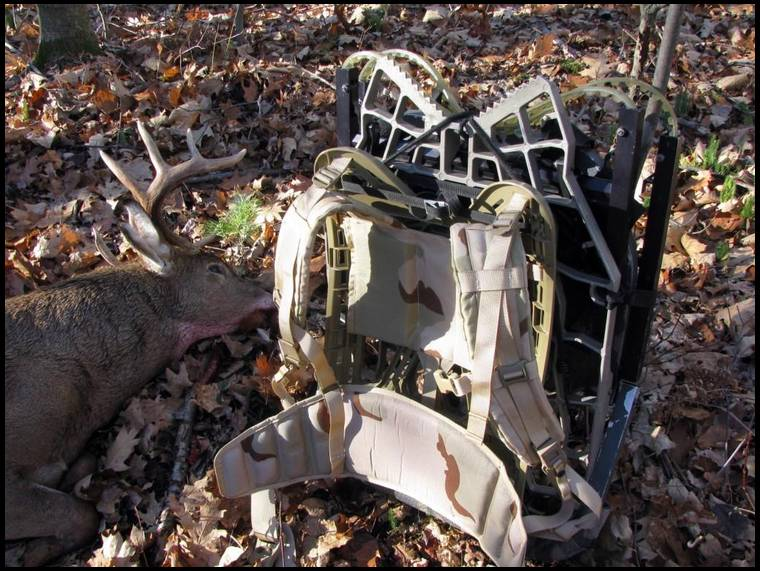 Treestand Pack In Harness