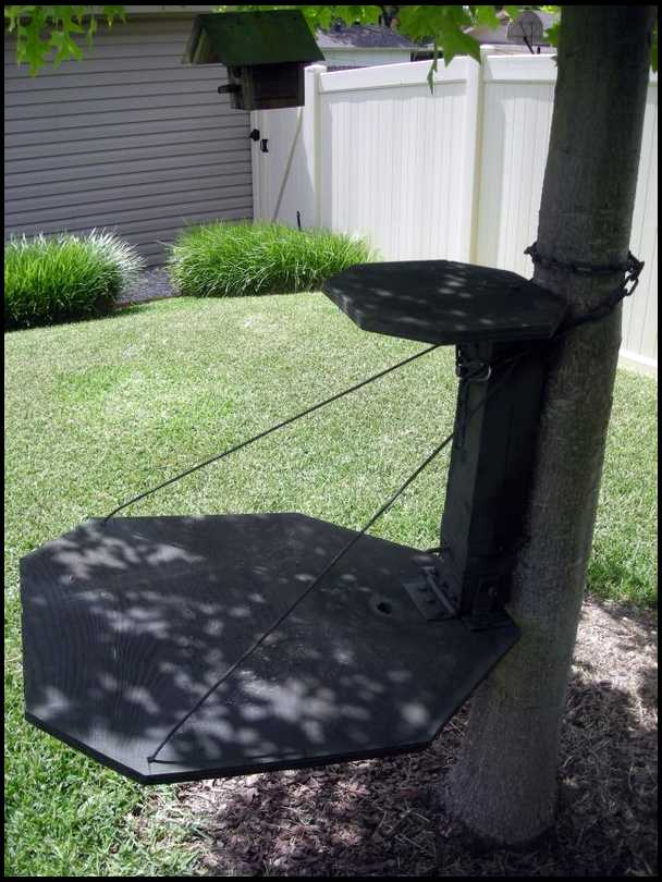 Home made tree stand designs for Tree stand ideas