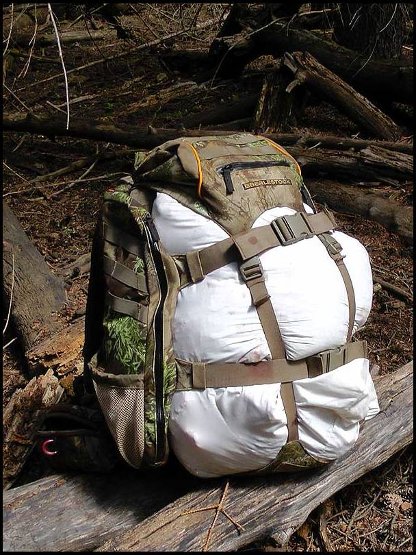 Daypack for meat hauling
