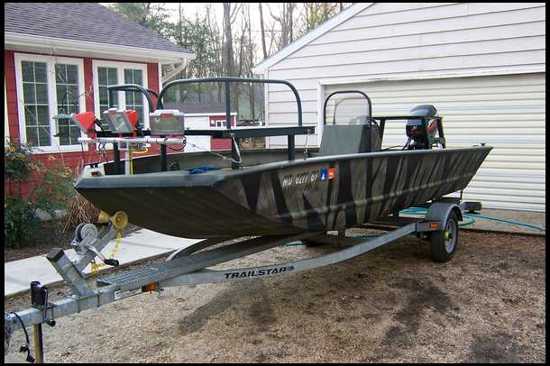 Production bowfishing platform for Bow fishing platform