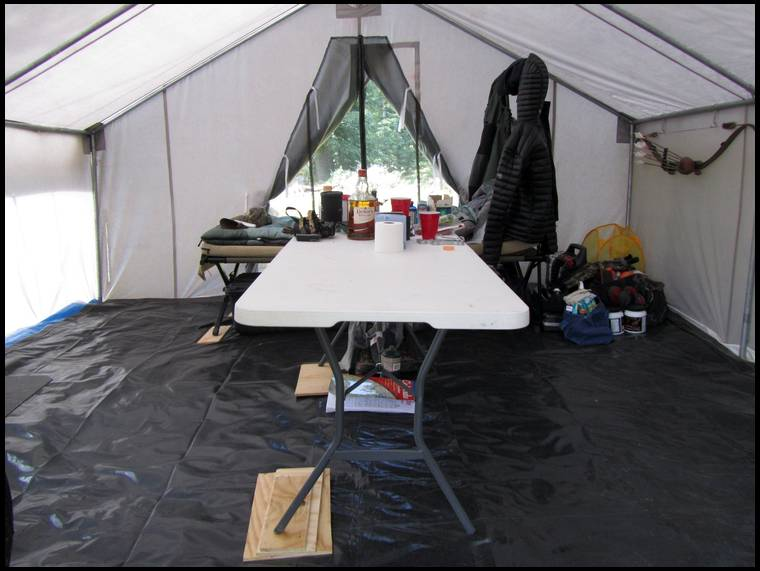 Blind Sowu0027s embedded Photo & Wall tent the good the bad u0026 the ugly