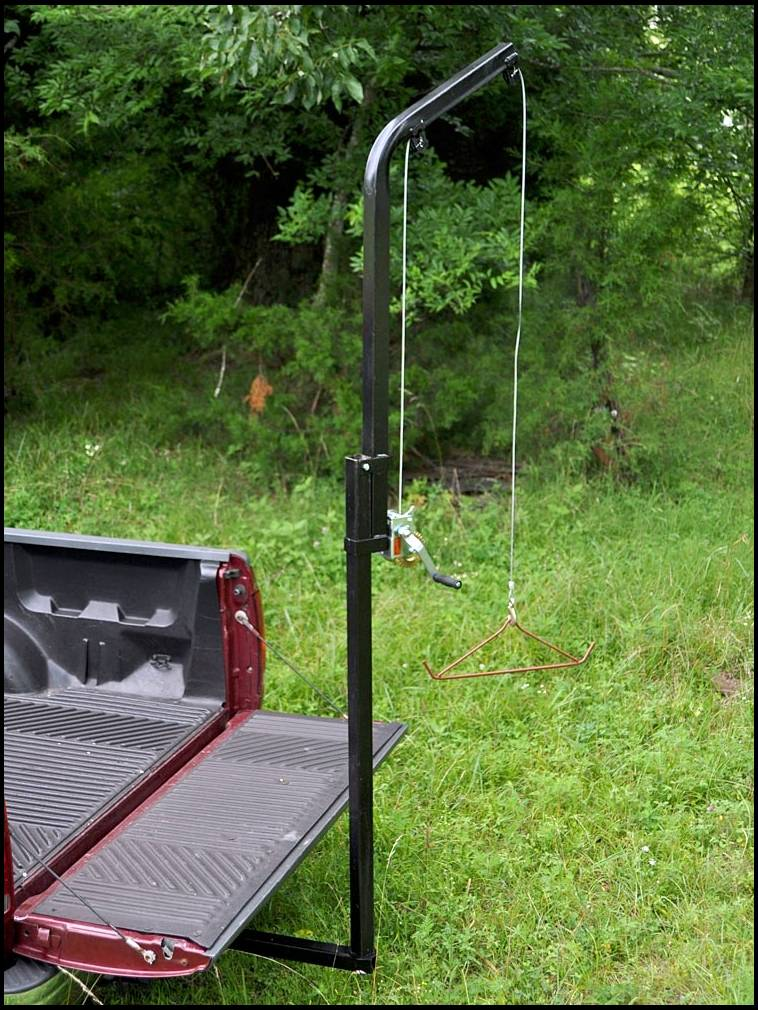 Receiver Hitch Skinning Pole Gambrel