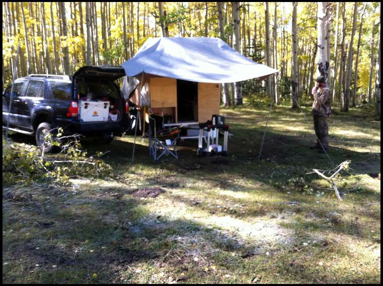 So Elk DIY Base Camp